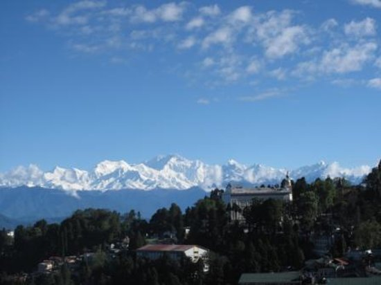 Dekeling Hotel : View of Kanchanjunga for Delkeling Hotel