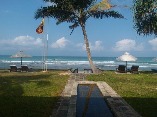 Mosvold Villa: Entrance to the beach