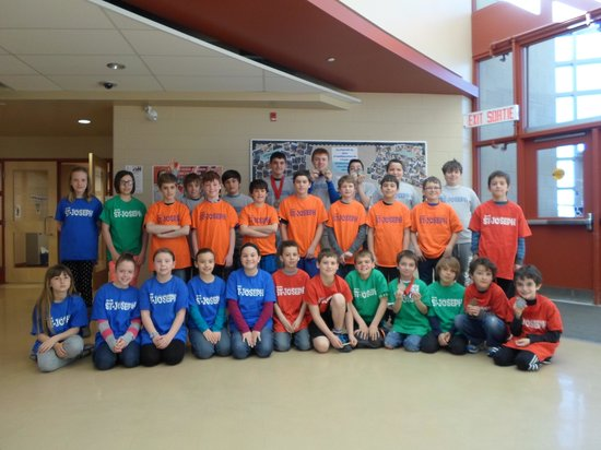 Leisure Inn Hotel : Ecole St Joseph Chess Team