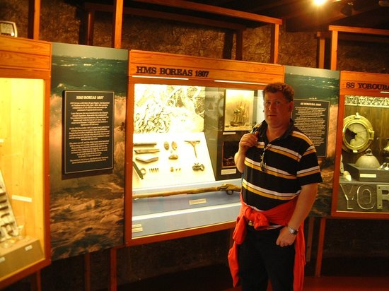 Fort Grey Shipwreck Museum: Inside the Museum