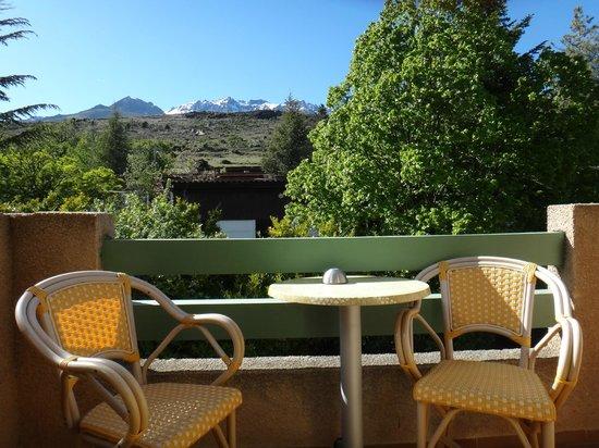 L'Acqua Viva Hotel: le balcon sur l'arrière