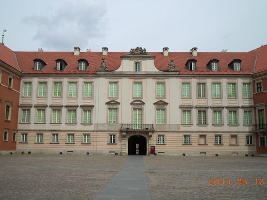 Royal Castle : Castle view from the interior courtyard