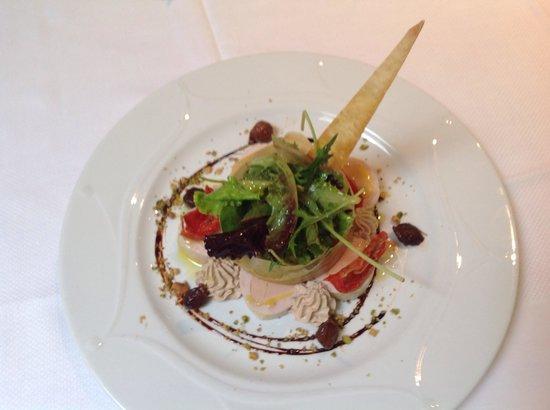 La Source: Ballottine  de volaille au foie gras
