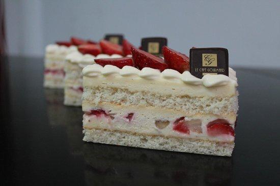 Café Gourmand : Délice fraises