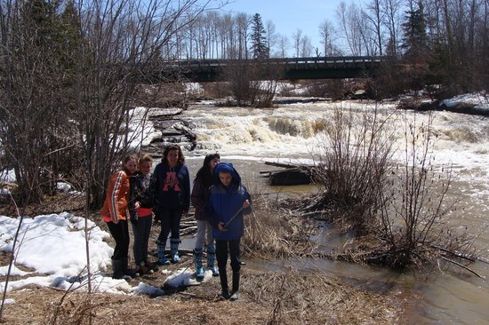 Leisure Inn Hotel: youth group hike at Pete's Dam