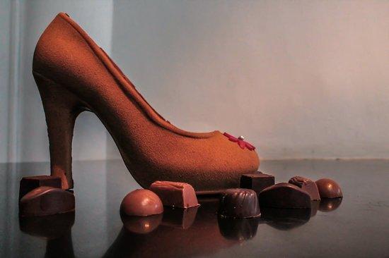 Café Gourmand : Chaussure En Chocolat De Pâques