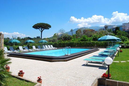 Hotel Europa: piscina e solarium