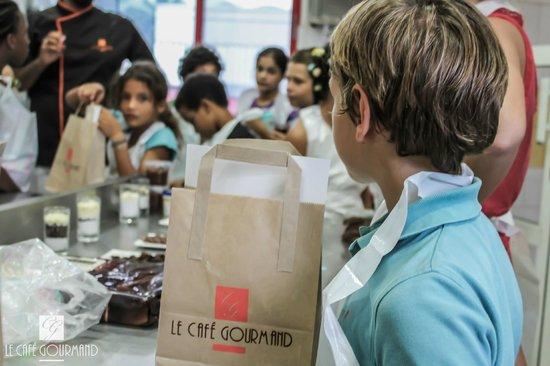 Café Gourmand : Atelier chocolat pour les écoles primaires