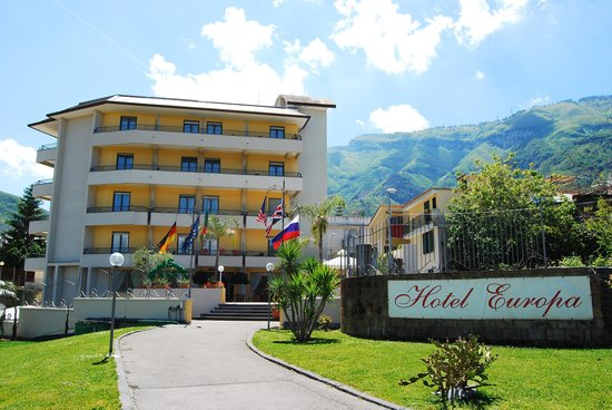 Hotel Europa: l'ingresso