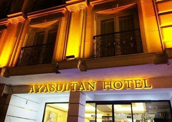 Ayasultan Hotel: Hotel facade