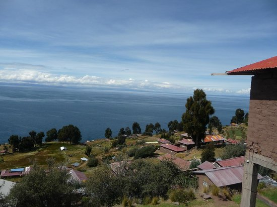 Taquile Island : View from the main square
