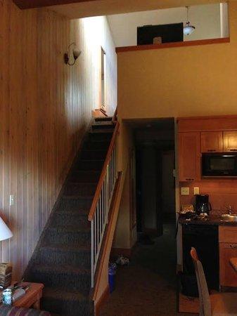 Hidden Ridge Resort: Upper condo loft