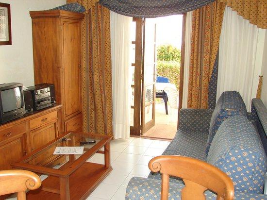 Fuerteventura Beach Club: Livingroom