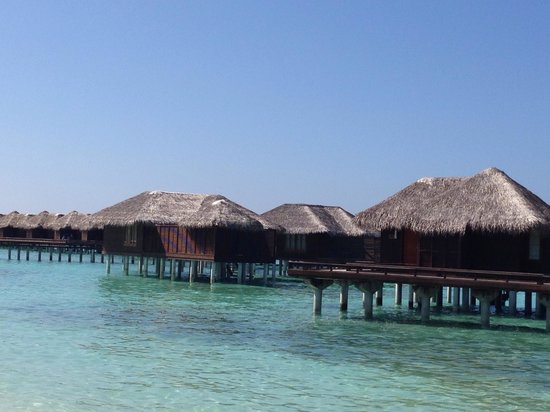 Sheraton Maldives Full Moon Resort & Spa: Our over water bungalow