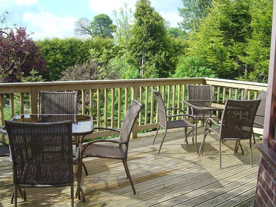 Loe Lodge: Decking