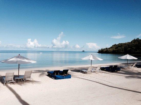 Palau Pacific Resort: Plage du PPR