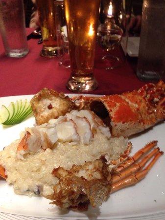 Palau Pacific Resort: Risotto au homard au PPR