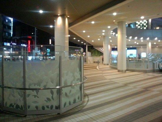 Hotel Trusty Osaka Abeno: Верхние этажи комплекса