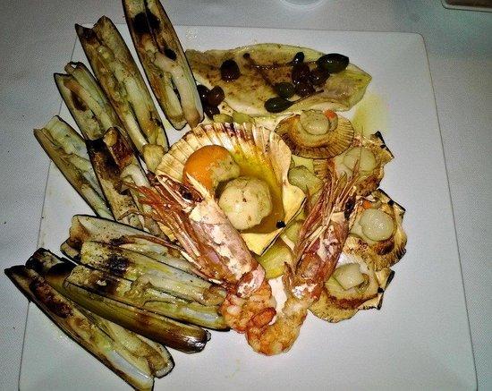 Ristorante da Mirella: Grigliata di pesce :)