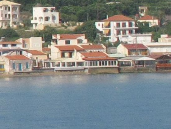Thalami Taverna: View from the sea