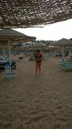 Domina Coral Bay Sultan : Пляж Султана и Елисира