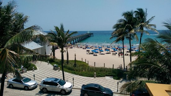 Wyndham Deerfield Beach Resort: My room's ocean view