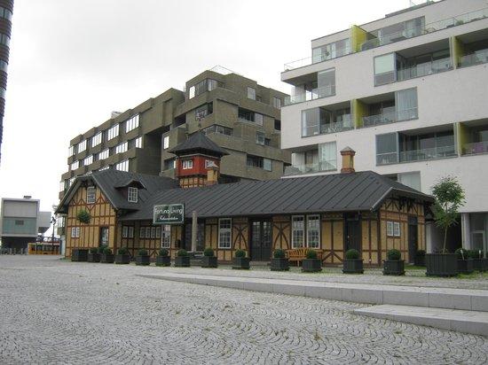 Adina Apartment Hotels CopenHagen: Charmante Umgebung