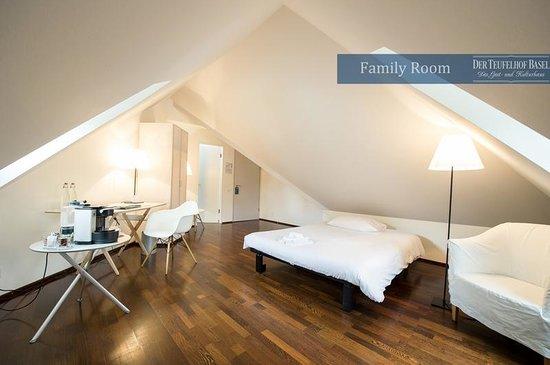 Der Teufelhof Basel: Family Room