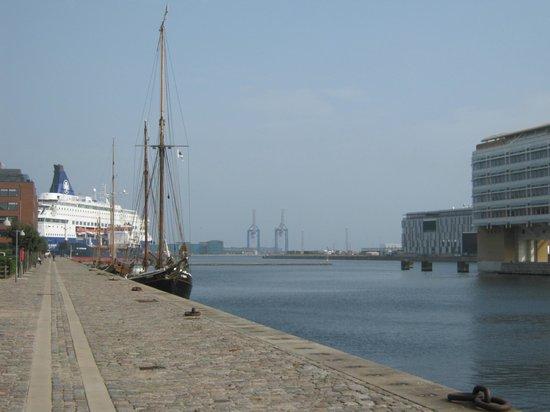 Adina Apartment Hotel Copenhagen : Direkt am Hafen
