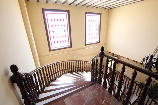 Hotel A Posada: Escalera
