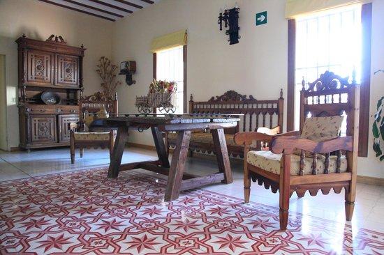 Hotel A Posada: Salón