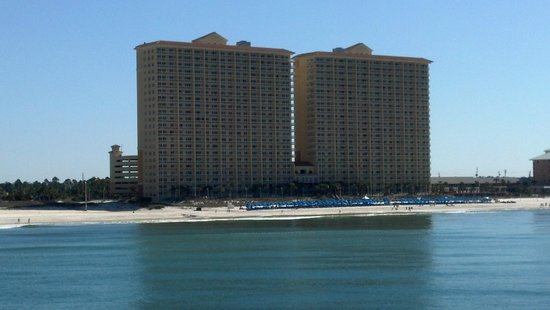 Calypso Resort & Towers: Picture from Pier