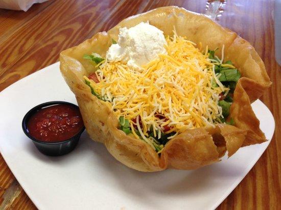 The Purple Onion Cafe: Taco Salad