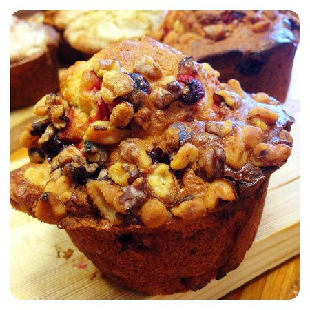 The Purple Onion Cafe: Cranberry Nut Muffin