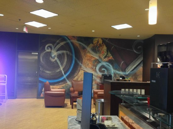 Wall art decor, Blaze Bistro and Lounge | 350 St. Mary Ave. (Delta ...