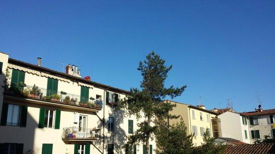 Hotel Casa Lea: Vista da varanda do quarto 8