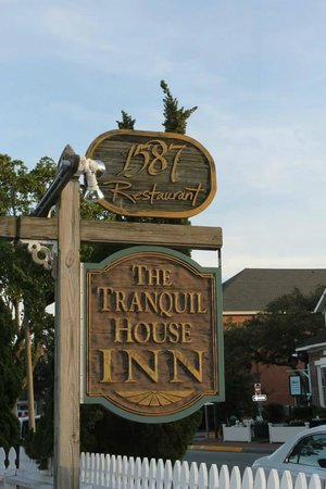 1587 Restaurant: Front Sign at 1587 Resturant
