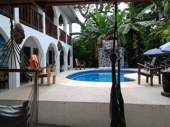 Nosara Playa Garza Hotel: Pool View!:)