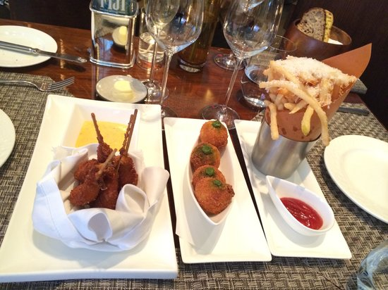 Aureole : Delicious appetizers to share