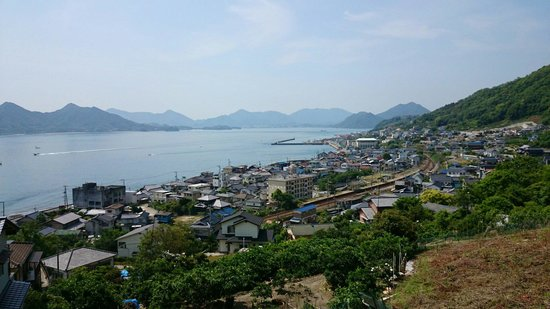 Mt. Fudekage Observatory: Along the route from Sunami