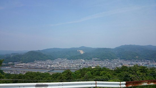 Mt. Fudekage Observatory: View from the converging point, 3km from Sunami