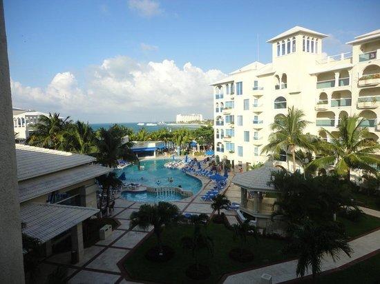 Occidental Costa Cancun: Foto desde la habitación