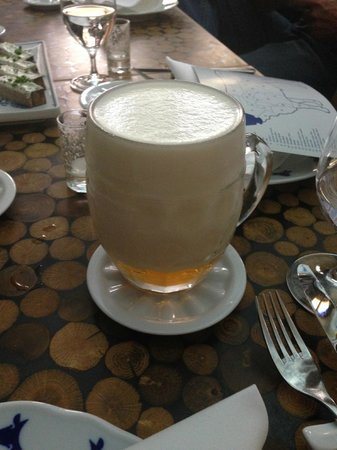 Taste Of Prague : The pour makes the beer taste different, interesting