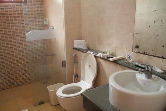 ABAD Green Forest Resort : salle de bains usagée