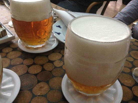 Taste Of Prague : Beers at Cestr