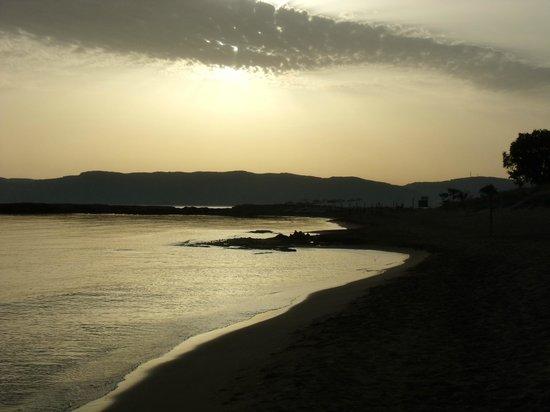 Maria Beach: Blick in die Bucht