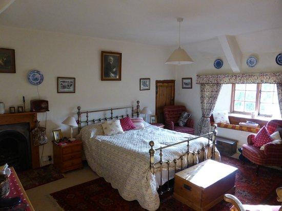 Great Sloncombe Farm : Bedroom