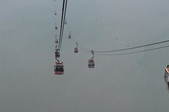 Grand Bouddha : cable car
