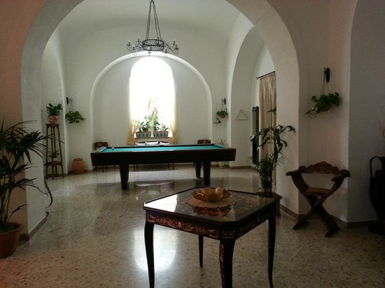 Villa Garden Hotel: Common area