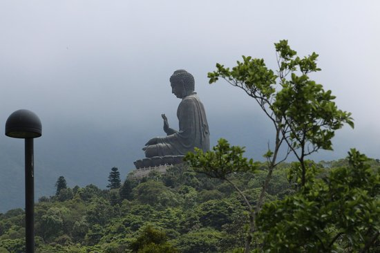 Grand Bouddha : big buddha from cablecar station